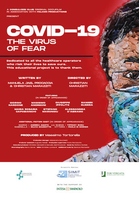 """Consulcesi: """"Covid-19 The Virus of Fear"""" An Italian Movie Regarding The Lesson Learned From The Pandemic"""