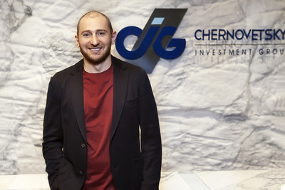 Stepan Chernovetskyi, the founder and head of the investment company Chernovetskyi Investment Group (PRNewsfoto/Chernovetskyi Investment Group)