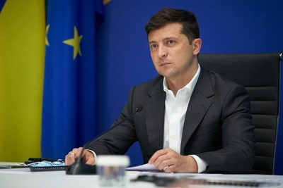 President of Ukraine, Volodymyr Zelensky (Photo credit: The Presidential Office of Ukraine)