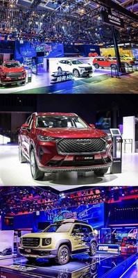 GWM Presenta su 3rd Gen HAVAL H6 insignia y el HAVAL Dagou en la Auto China 2020. (PRNewsfoto/GWM)