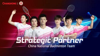 Strategic Partner of China National Badminton Team