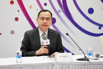 Lu Yongping, vicepresidente del Departamento Global de Negocios de Energía de Huawei Enterprise Business Group (PRNewsfoto/Huawei)