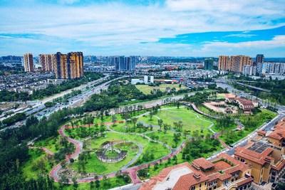 Chengdu, scenic and livable park community