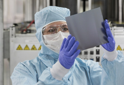 Highly efficient EpiNex™ wafers lead the solar industry into a new age (PRNewsfoto/NexWafe GmbH)