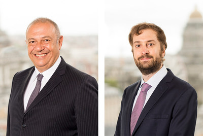 Leading International Trade Team Joins Crowell & Moring in Brussels (Photographed from left to right: Vassilis Akritidi and Lorenzo Di Masi)