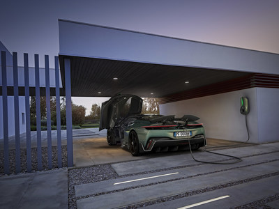 Automobili Pininfarina Battista – Charging