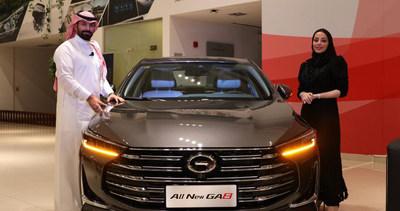 El nuevo GA8 (PRNewsfoto/GAC MOTOR)