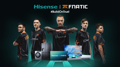 Hisense Announces Global Partnership With Fnatic Esports Organization