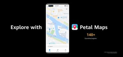 Explora con Petal Maps (PRNewsfoto/Huawei Consumer Business Group)