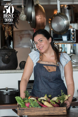 Janaina Rueda Wins American Express Icon Award 2020 As Part Of Latin America's 50 Best Restaurants