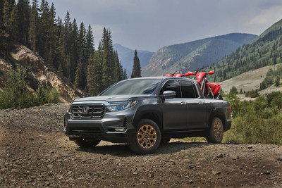 The 2021 Honda Ridgeline is set to launch early next year with a bold redesign that reflects its rugged and versatile pickup truck capabilities. Equally at home on dirt and mud-strewn trails as it is on the highway or twisting mountain roads, the 2021 Ridgeline features standard V6 power, class-leading ride and handling, the segment's largest interior for passengers and gear, a brilliantly versatile bed, and the best standard AWD model payload capacity.