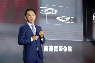 Ryan Ding habla en el UBBF 2020 (PRNewsfoto/Huawei)