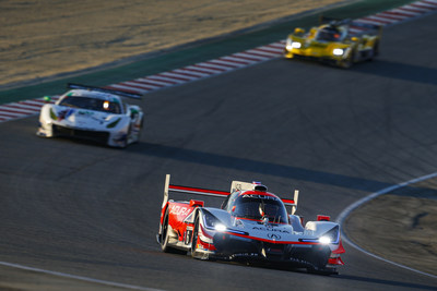 Helio Castroneves and Ricky Taylor scored their fourth IMSA WeatherTech SportsCar Championship win of the season today as Acura dominated overall and in the GTD division to win both classes at WeatherTech Raceway Laguna Seca in Monterey, California.
