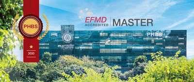 PHBS Building;PHBS Master Program of Economics Re-Accredited by EFMD