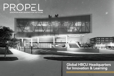 Propel Center is a virtual and physical campus that will serve as a global hub for leadership and career development for more than 100 Historically Black Colleges and Universities (HBCUs). Propel Center was designed by Ed Farm, a nonprofit committed to transforming classrooms to uplift communities, with Apple and Southern Company supporting the project as founding partners.