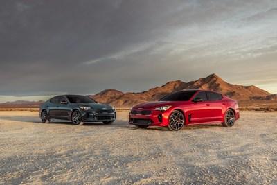 Stinger GT y GT-Line 2022 (PRNewsfoto/Kia Motors America)