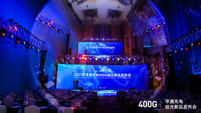 2021 Hengtong New Product Launch for 400G Silicon Photonics Optical Transceiver