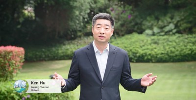 Sr. Ken Hu, presidente rotativo de Huawei (PRNewsfoto/Huawei)