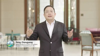 Sr. Peng Zhongyang, miembro de la Junta Directiva y presidente de Enterprise BG, Huawei (PRNewsfoto/Huawei)