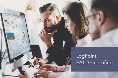 LogPoint now delivers the only SIEM in the world with Common Criteria EAL 3+ certification. It documents LogPoint software meeting the rigorous quality standards required by critical infrastructure industries, defense, intelligence and law enforcement.