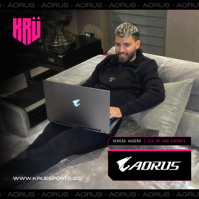 Surprising Duo! AORUS Teams Up with Football Star Sergio Aguero in Esports