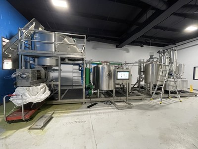 Arbor Vita8 Hemp Biomass Extractor - 5,000lbs of Biomass to Crude or Distillate in 24 hours