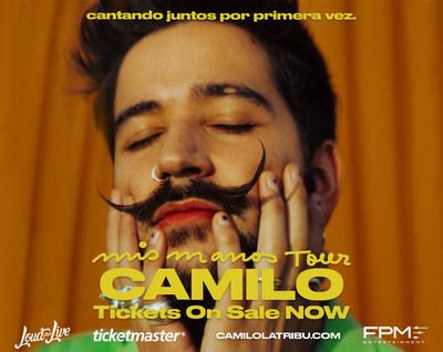"""CAMILO """"Mis Manos Tour"""""""