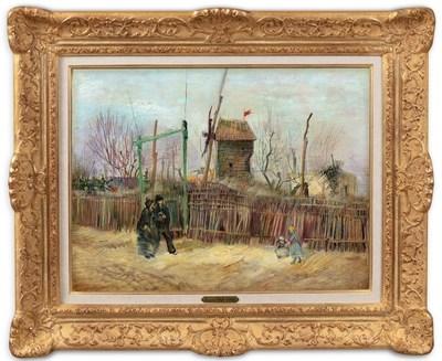 Vincent Van Gogh, Scène de rue à Montmartre (1887): $15.4 million on 25 March 2021 at Sotheby's & Mirabaud-Mercier