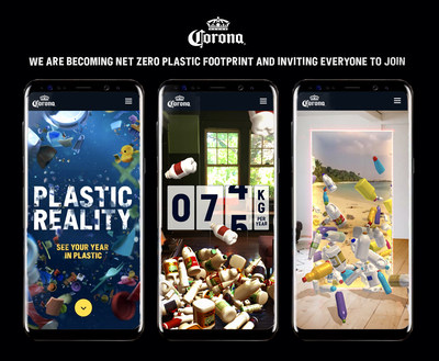 """For World Oceans Week, Corona Releases """"Plastic Reality"""" an eye-opening augmented reality (AR) experience to empower people to join the brand in their zero plastic quest"""