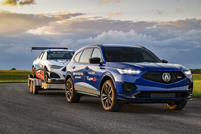 2022 MDX Type S Breaks Cover as Acura Race Team Departs for Pikes Peak International Hill Climb