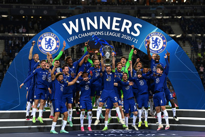 Getty Images: Chelsea FC wins the UEFA Champions League 2021