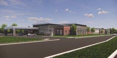 The future Encompass Health Rehabilitation Hospital of Fitchburg